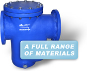 A Full Range of Materials are available, including FRP Basket Strainers
