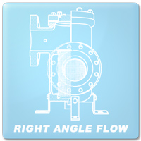 Right Angle Flow Option