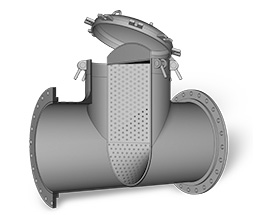 Tee Strainer shown as an example of a Fabricated Product