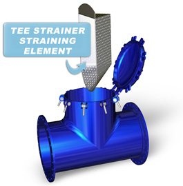 Tee Strainers have unique Straining Elements